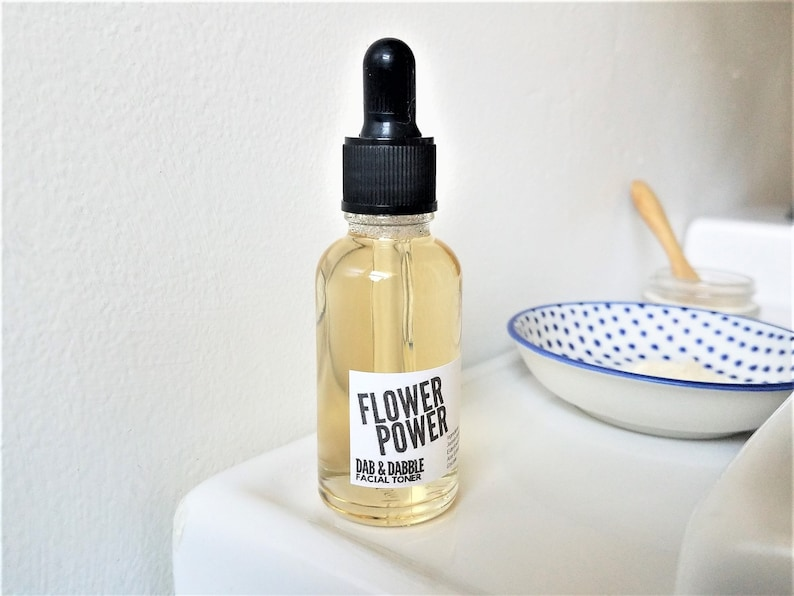 Flower Power Facial Toner  Face Mask Mixing Liquid image 0
