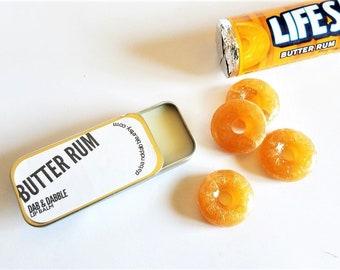 Butter Rum Lip Balm | Lip Gloss | Foodie Gift | Organic Lip Balm | All Natural Lip Balm | Lip Butter