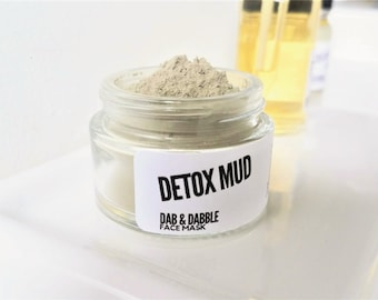 Dead Sea Mud Mask | Facial Mask For Acne Prone Skin | Detoxifying Mud Clay Face Mask
