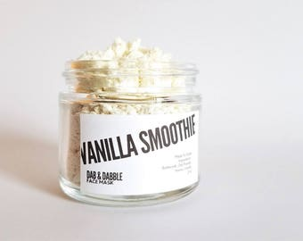 Vanilla Smoothie Face Mask | Gentle Face Scrub | Cleansing Grains | Natural Facial Cleanser | Facial Mask | Dry Face Mask