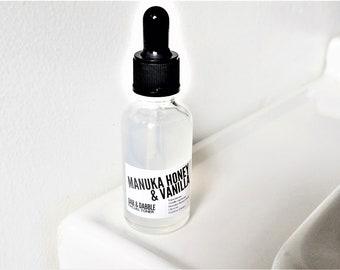 Manuka Honey & Vanilla Facial Toner | Face Mask Mixing Liquid