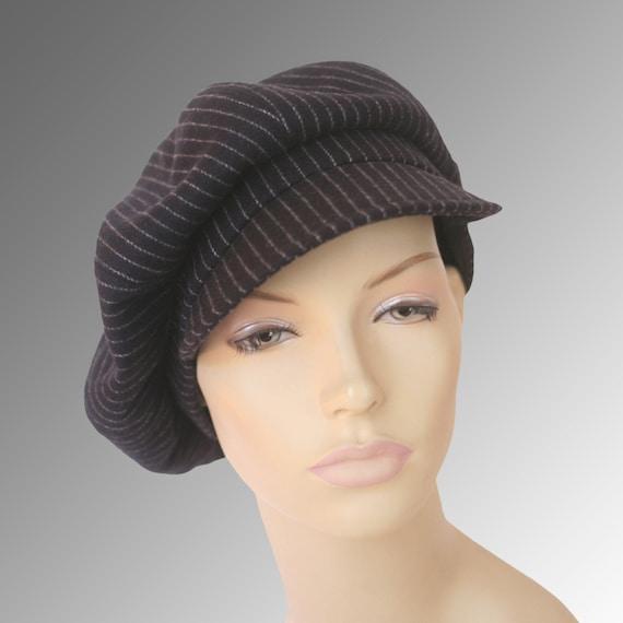 Newsboy Oversized Bakerboy Paperboy Flat Cap Hat Cabby 1930  28d52a462ea