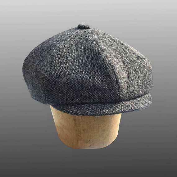 Peaky Blinders Grey Fleck Tweed Hat Shelby Retro Classic  831514669a3