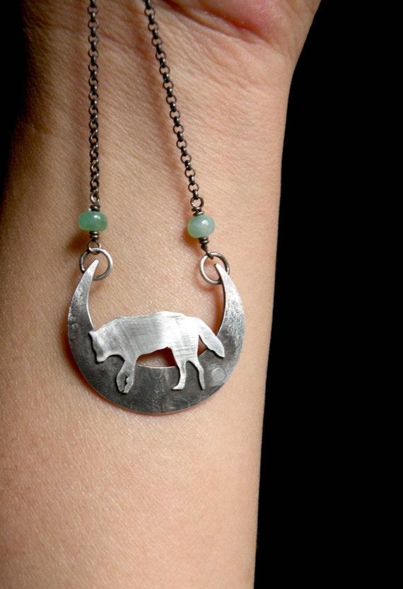 Wolf totem necklace - photo#52