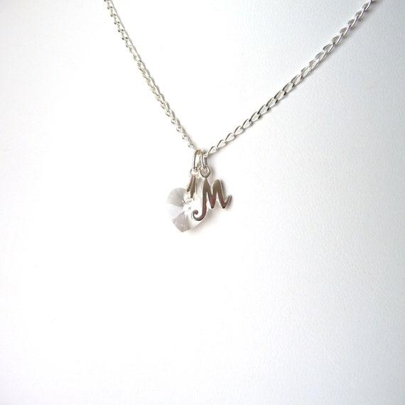 april birthstone necklace childrens birthstone necklace. Black Bedroom Furniture Sets. Home Design Ideas