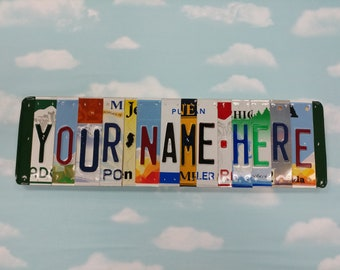 License plate sign | Etsy