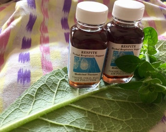 RESPITE Herbal Respiratory Support Tincture