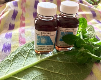 RESPITE Respiratory Herbal Support Tincture