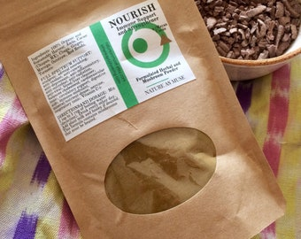 NOURISH Immune Organic Support and Strengthener Made with Herbal Support Powder with Mayan Cacao 2 Month Supply