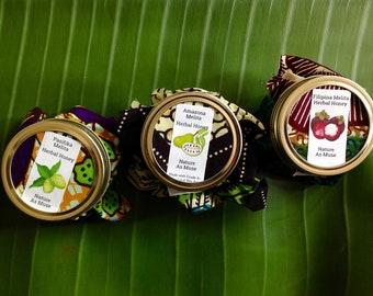 Herbal Honey Set- Noni, Mangosteen, Graviola/Guybanao