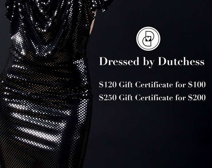 Featured listing image: Black Friday GIFT CERTIFICATES
