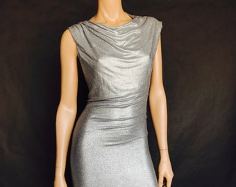 Silver Skywalker hooded party dress
