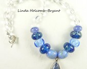 Shades of Blue Necklace