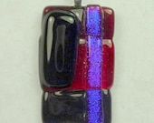 SALE Fused Glass Pendant