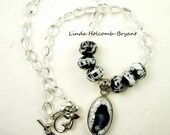 Necklace of Black and White