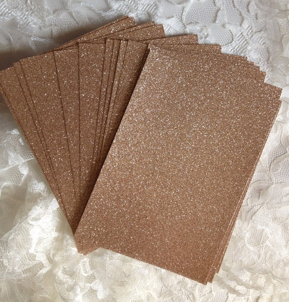 Diy Glitter Cardstock 5x7 For Wedding Or Quince Invitations Etsy