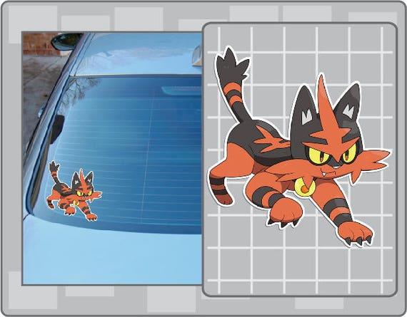 Nidoran Pokemon Go Pokemon Waterproof Self Adhesive Vinyl Sticker m