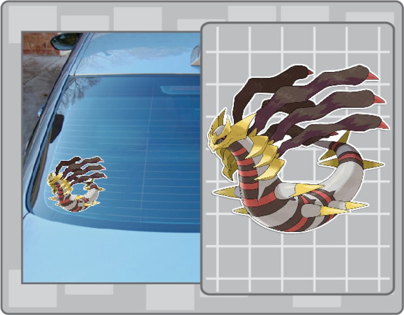GIRATINA vinyl decal No. 1 from Pokemon Sticker for Just about image 0