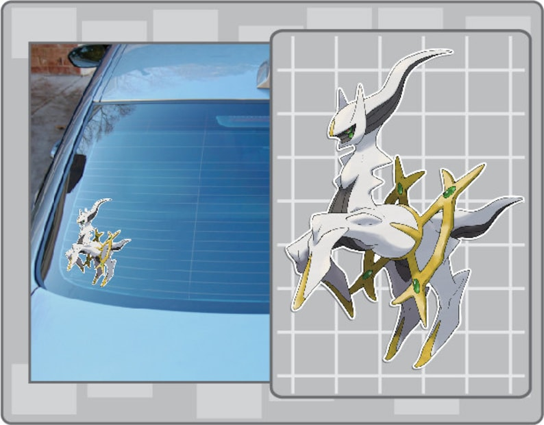 ARCEUS vinyl decal from Pokemon Sticker for Just about image 0