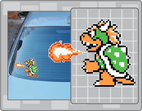 8 bit super mario bros 3 bowser