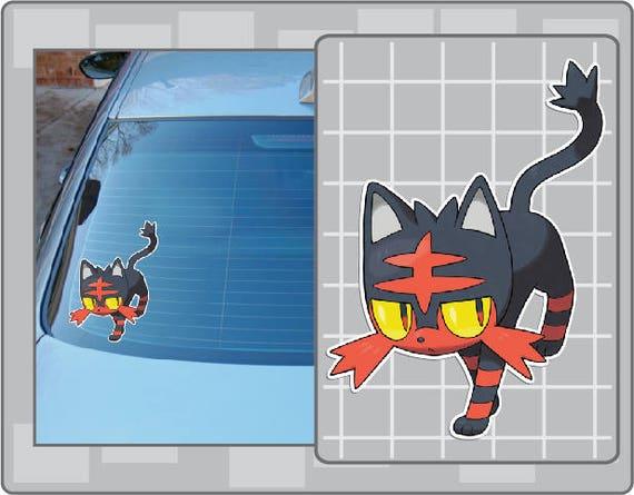 Linoone  Pokemon Go Pokemon Waterproof Self Adhesive Vinyl Sticker