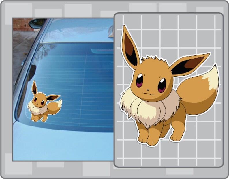 EEVEE vinyl decal sticker from Pokemon No. 1 image 0