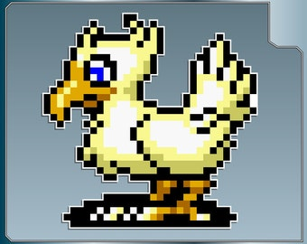 CHOCOBO from Final Fantasy Vinyl Decal No. 1 FF Sticker