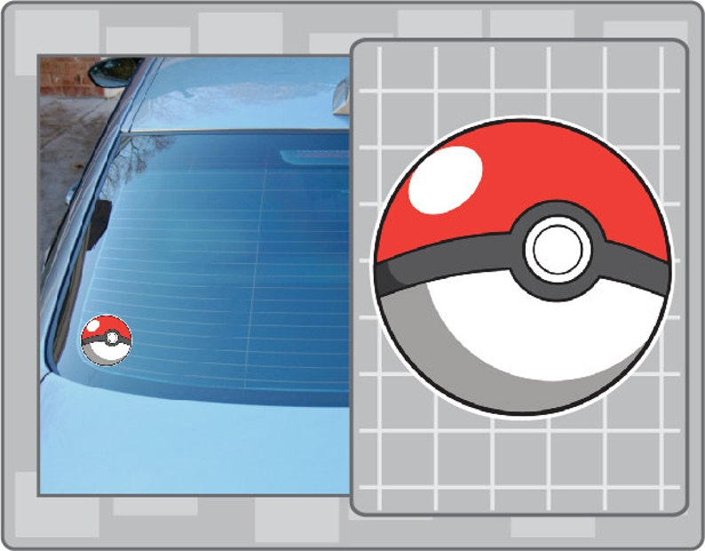 POKEBALL No. 2 from Pokemon Vinyl Decal Anime Sticker for image 0
