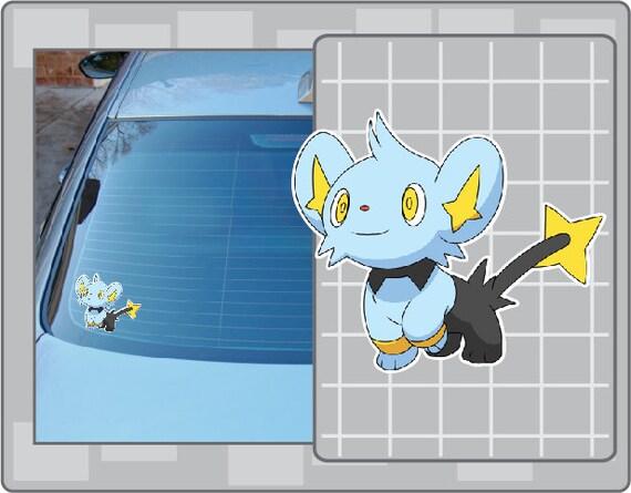 Shinx  Pokemon Go Pokemon Waterproof Self Adhesive Vinyl Sticker