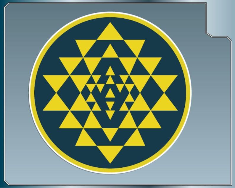 COLONIAL MARINES Logo vinyl decal from Battlestar Galactica image 0