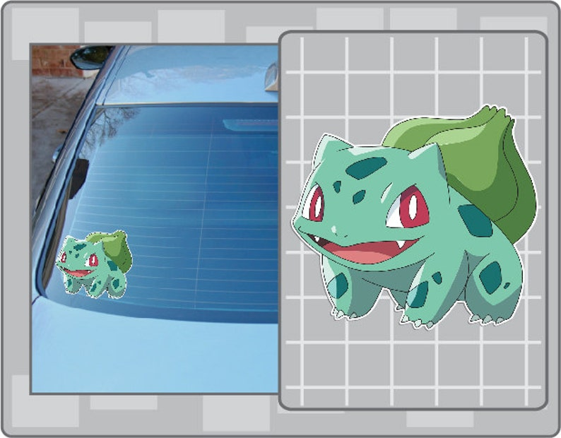 BULBASAUR vinyl decal from Pokemon Sticker for Just about image 0
