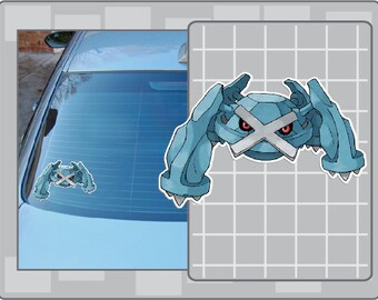 METAGROSS vinyl decal from Pokemon Car Window Laptop Sticker for Almost Anything!