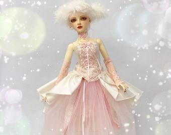 BJD dress, doll clothes, doll dress, candy floss sweet