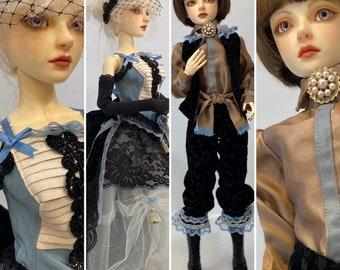 BJD outfit, doll clothes, doll suit, unisex
