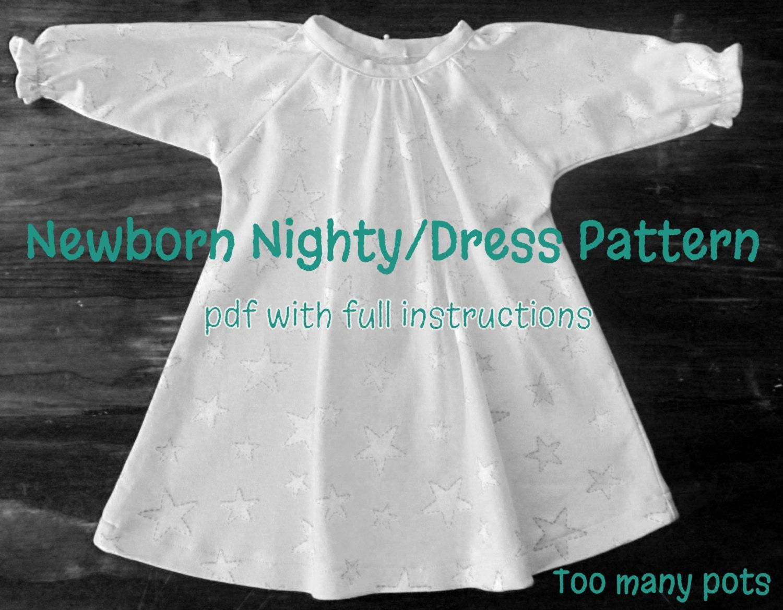 Enchanting Nightie Schnittmuster Motif - Decke Stricken Muster ...