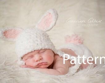 fda884b93db Bunny Baby Hat Pattern
