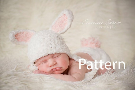 Bunny Baby Hat Pattern Crochet Girl Hat Newborn Hat Pattern