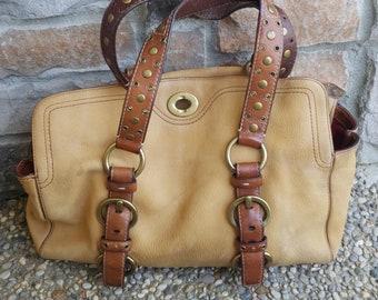 Vintage Coach Purse Handbag Needs Repair