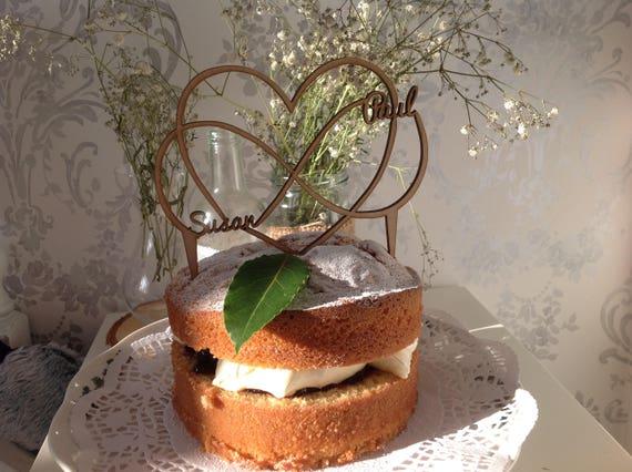 Personnalisé acrylique 60th diamant mariage anniversaire fer à cheval cake topper
