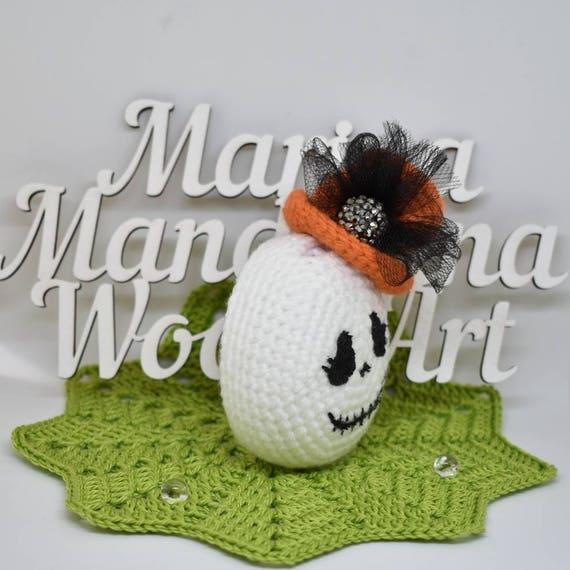 Tamagotchi M!X mix meets 4U iDL P/'s Friends case crochet beads by MarinaMandarina Halloween witch cat pumpkin