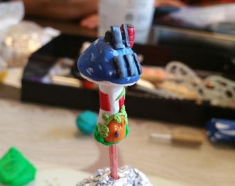 Fairy Garden Toadstool Houses (With or without solar panels)