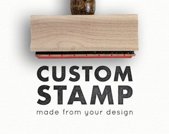 Hand painted custom stamps
