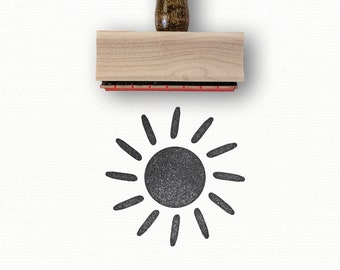 \u03a6 15mm Mini Rubber Stamps ST004Y Cute Sun Cloud Stamps 1pcs Vintage Sunny Rubber Stamp Mini Weather Stamps
