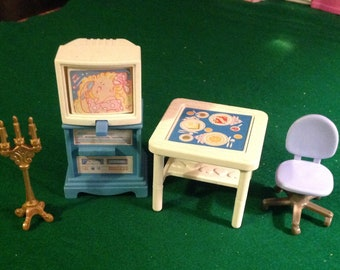 Moving Sale Reduced DollHouse Furniture Lot Most Fisher Price