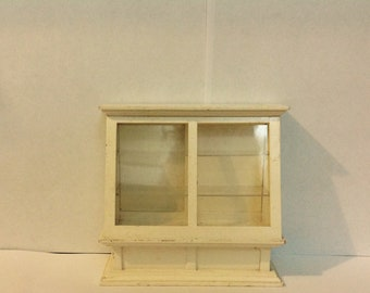 Dollhouse Miniature Store Display Cabinet