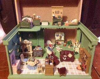 Miniature Resin Furniture 4 rooms