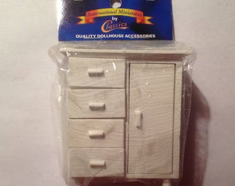 Dollhouse Miniature Baby dresser