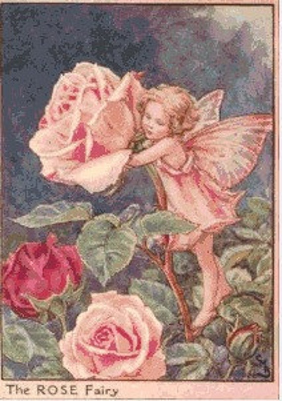 Rose Fairy Dimensions Needlecrafts Counted Cross Stitch