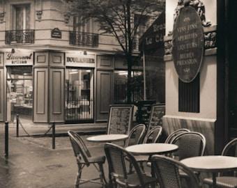 Cafe Montmartre - Cross stitch pattern pdf format