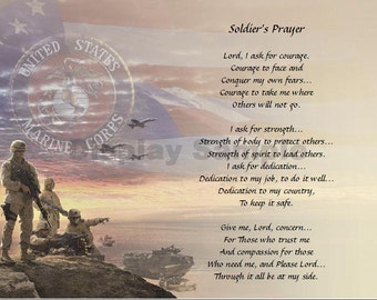 A Soldier's Prayer- Marine Poetry